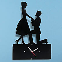 Propose Wall Clock: Propose Day Gifts