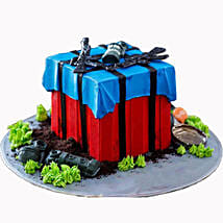 PUBG Drop Cake: Designer Cakes for Birthday