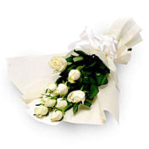 Purity: White Roses