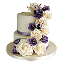 Purple Cascade: Cake Delivery in Kalyan
