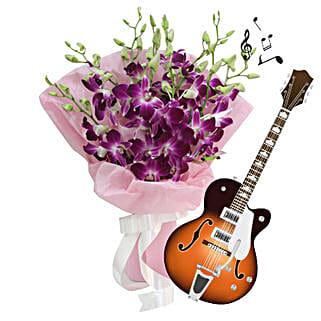 Purple for Love: Teachers Day Flowers