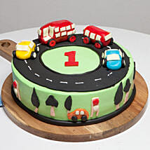 Race Track First Birthday Cake: Designer Cakes for Birthday