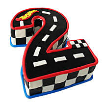 Racing Track Cake: Alphabet N Number Cakes