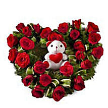 Radiant Rage: Flowers & Teddy Bears for Propose Day