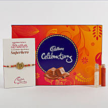 Rakhi Cadbury Celebrations Combo: Send Rakhi to Amalapuram