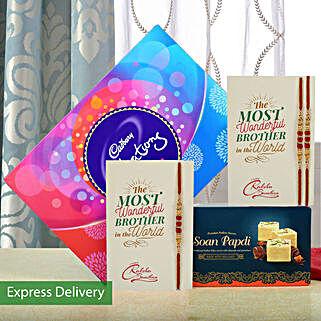 Rakhi Celebrations Combo: Rakhi Express Delivery
