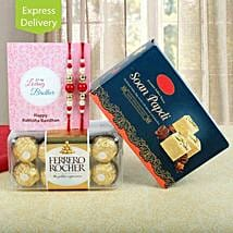 Rakhi Double Treat: Rakhi Gifts for Brother