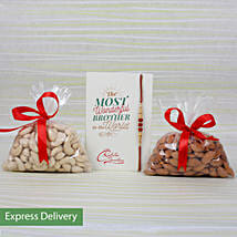 Rakhi Dry Fruits Combo: Rakhi Gifts to Alwar
