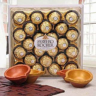 Ravishing Diwali Hamper: Diwali Chocolates