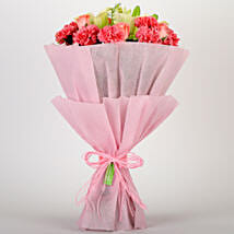 Ravishing Mixed Flowers Bouquet: Gifts to Green Park Delhi