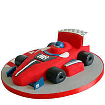 Red Hot Ferrari Car Cake: Designer Cakes Lucknow