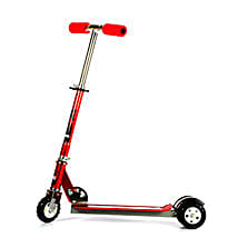 Red Ultra Durable Big Wheel Scooter: Cars for Kids