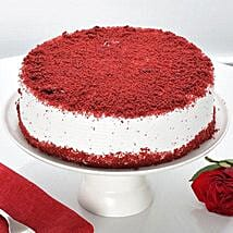 Red Velvet Fresh Cream Cake: Send Valentine Cakes to Ludhiana