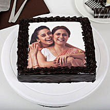 Rich Chocolate Mothers Day Photo Cake: Send Mothers Day Cakes to Delhi