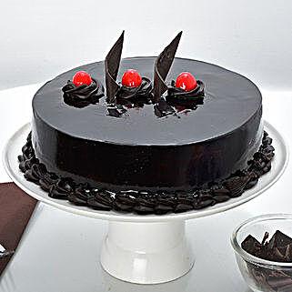 Rich Chocolate Truffle Cream Cake: Truffle Cakes