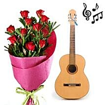 Romance Via Red Roses N Music: Experiential Gifts