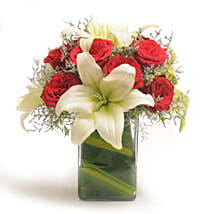 Roses N Lilies: Romantic Flowers for Him