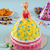 Rosy Barbie Cake: Cakes to Adoni