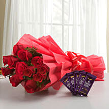 Rosy N Sweet: Flowers & Chocolates for Him