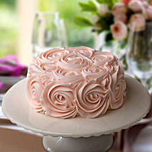 Rosy Pink Choco Cake: Gifts Delivery In Ramamurthy Nagar