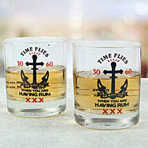 Rum N Whiskey Glasses: Funny Gifts