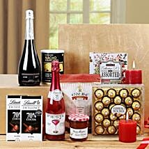 Sensational Treat Gift Basket: Send Gift Hampers for Family