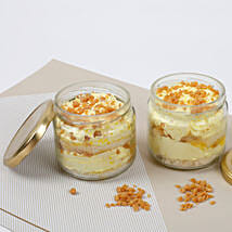 Set of 2 Crunchy Butterscotch Jar Cake: Cake in a Jar