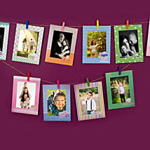 Set Of Colourful Photo Frames: Karwa Chauth Special Photo Frames