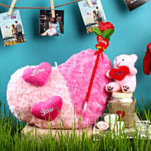 Shades Of Love Combo: Send Valentines Day Soft toys
