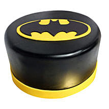 Shining Batman Cream Cake: Gifts to Vijaya Bank Layout Bangalore
