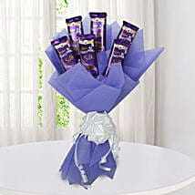 Silk Chocolate Bouquet: Chocolate Bouquets for anniversary