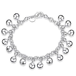 Silver Plated Women Charm Bracelet: Friendship day Bracelets
