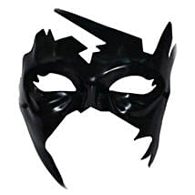 Simba Krrish Face Mask with Cool Dude Smiley: Superhero Toys