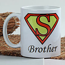 Sizzle With Superman Mug: Send Rakhi to Amalapuram