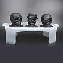 Skull Ice Mould Set Of 3: Unusual Gifts
