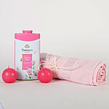 Soft Pink Gift Hamper: Send Thank You Gift Hampers