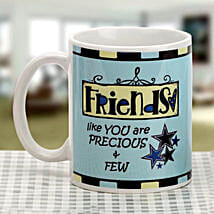 Soothing blue mug: Send Friendship Day Gifts to Noida