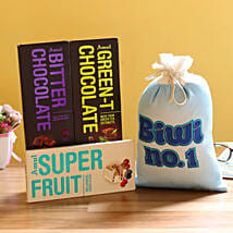 Special Amul Chocolates For Wife: Flower Delivery in Etah