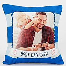 Special Fathers Day Personalized Cushion: Personalised Cushions for Fathers Day