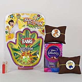Special Rakhi Combo for Kids: Rakhi Gift Hampers
