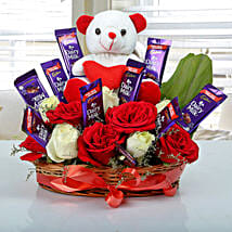 Special Surprise Arrangement: Valentines Flowers Vapi