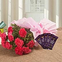 Spoil Rotten With Flowers N Flavours: Flowers & Chocolates for Wife