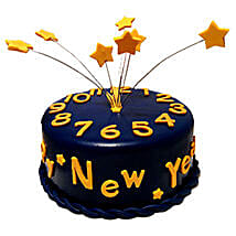 Starry New Year Cake: New Year Gifts for Husband