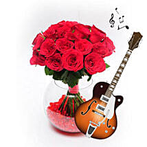 Stunning Display of Love with Music: Thanks Giving Day Flowers
