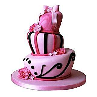Stunning Pink Wedding Cake: Wedding Cakes Bengaluru