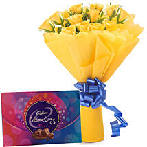 Style Celebration: Send Flowers & Chocolates to Faridabad