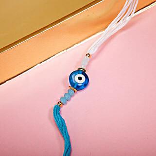 Stylish Evil Eye Protection Rakhi: Send Feng Shui Rakhi