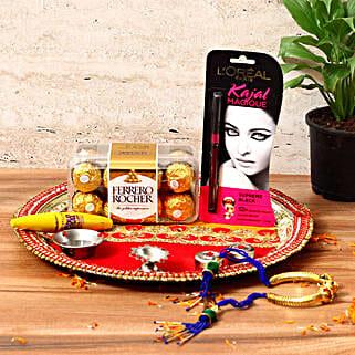 Stylish Karwa Chauth Gift Hamper: Cosmetics & Spa Hampers for Karwa Chauth
