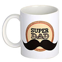 Super Dad Coffee Mug: Send Fathers Day Gifts to Gurgaon