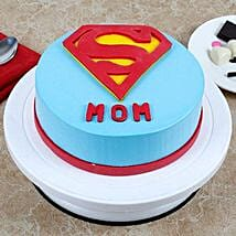 Supermom Cake: Eggless cakes for Mother's Day